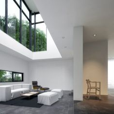 blackwhite residence - inspired by David Jameson Architect