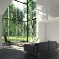 blackwhite residence - inspired by David Jameson Architect