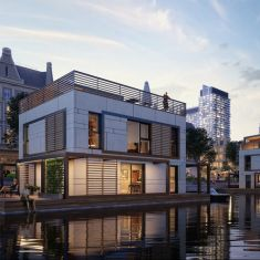 floating house - for EcoReadyHouse