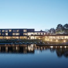 waterfront hotel - for Habitat architekci