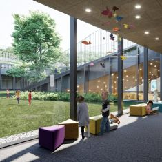 kindergarten - for Habitat architekci
