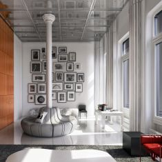 white street loft - inspired by WORKac