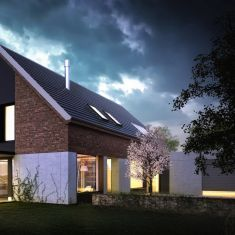 house in Glasow - karol nieradka / maxberg.pl