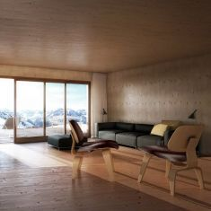 house on the rigi - inspired by AFGH architects